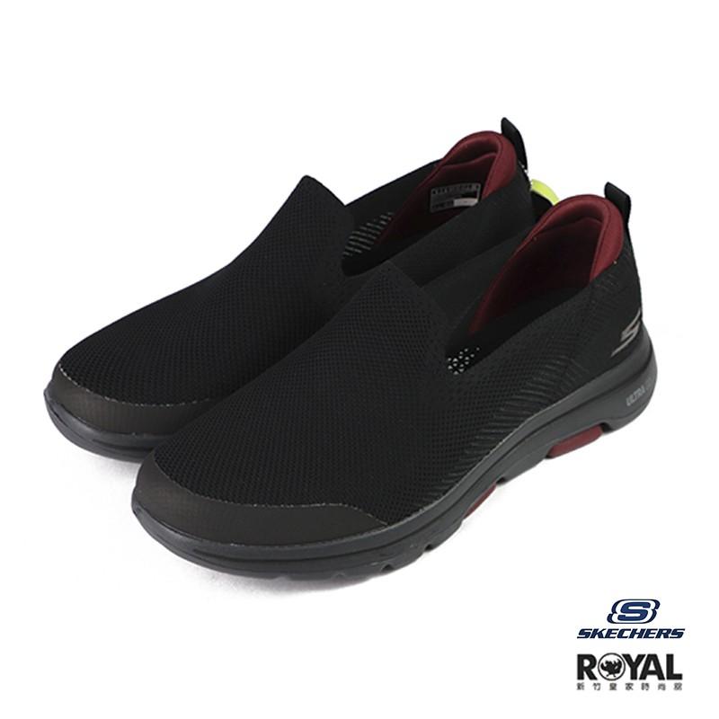 Skechers Go Walk 5 黑色 織布 休閒鞋 男款 NO.B1355 廠商直送 現貨