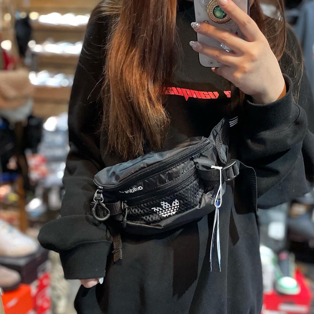 【Big Show TAINAN】Adidas waist bag 防潑水網袋 腰包 GN2233