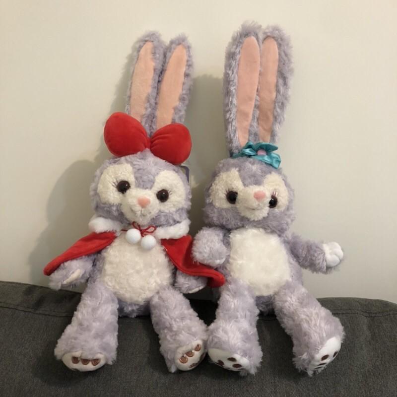史黛拉兔 娃娃 大娃娃 兔 達菲 雪樂玫 朋友 迪士尼 兩隻300