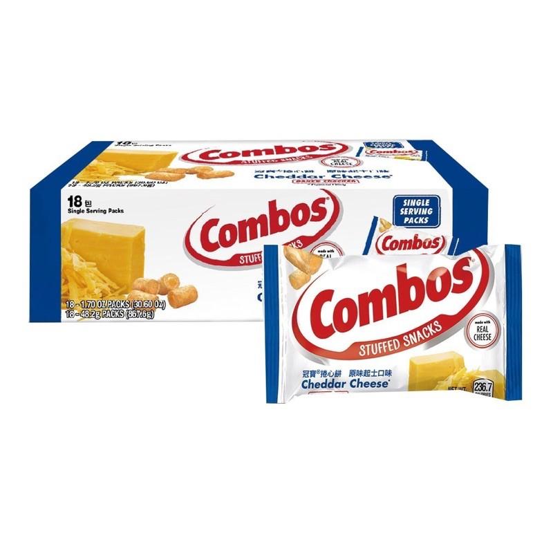 Costco 冠寶Combos起司捲心餅乾