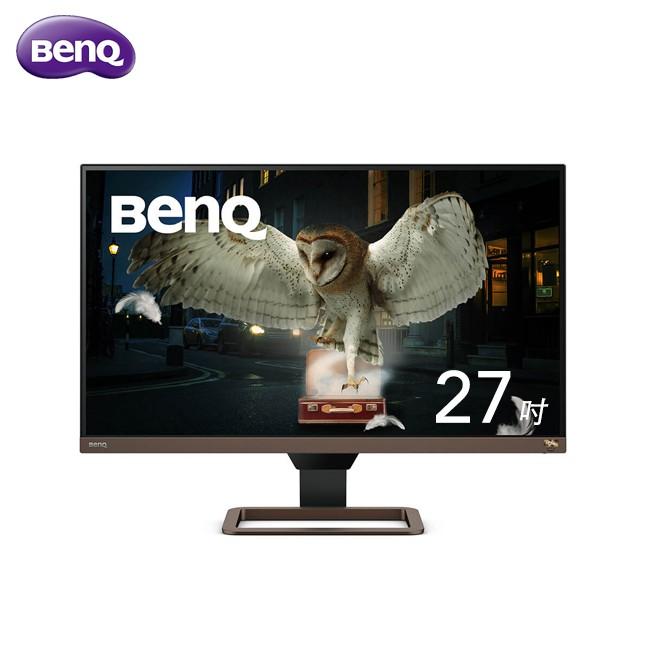 BenQ 27吋 UHD EW2780U IPS LED 類瞳孔娛樂護眼 螢幕【明基】免運