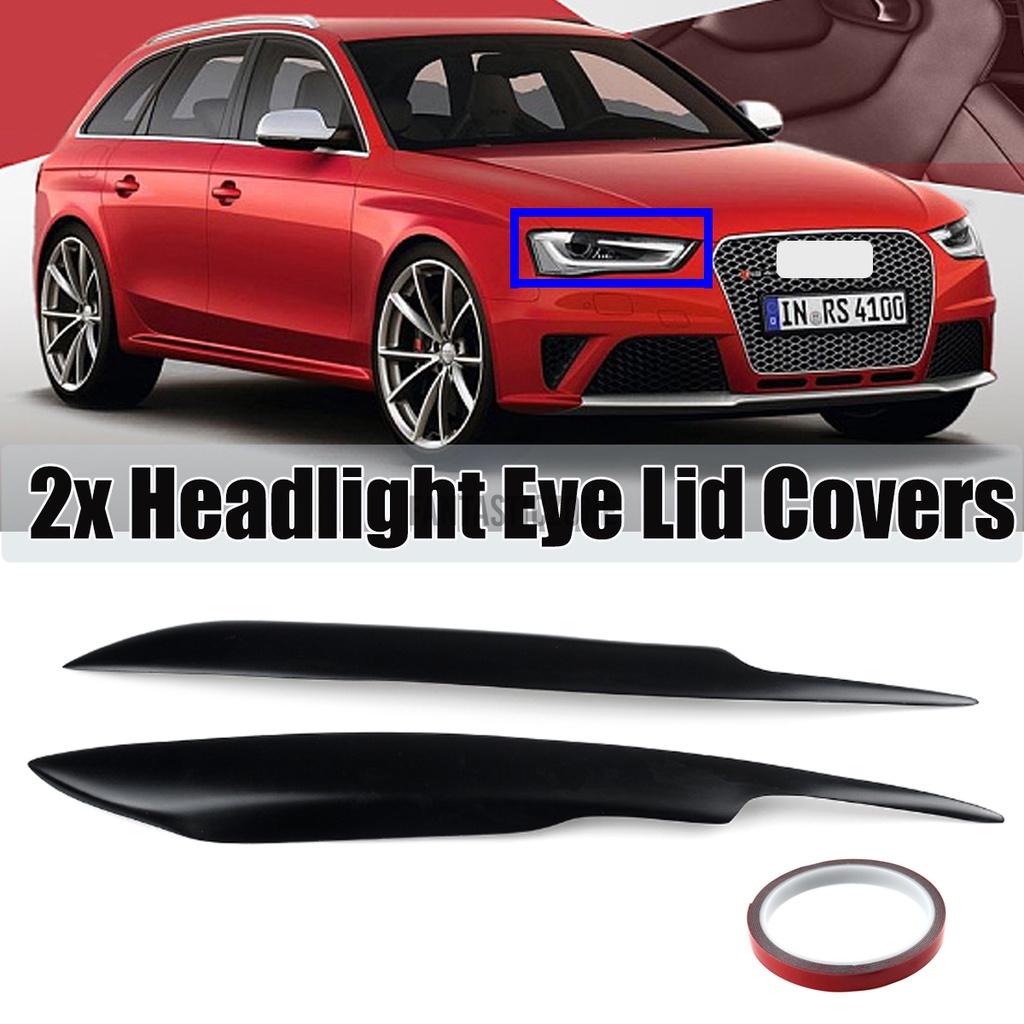 奧迪A4 S4 RS4 B7大燈罩歐元罩飾邊烤肉擾流板眼瞼眉毛
