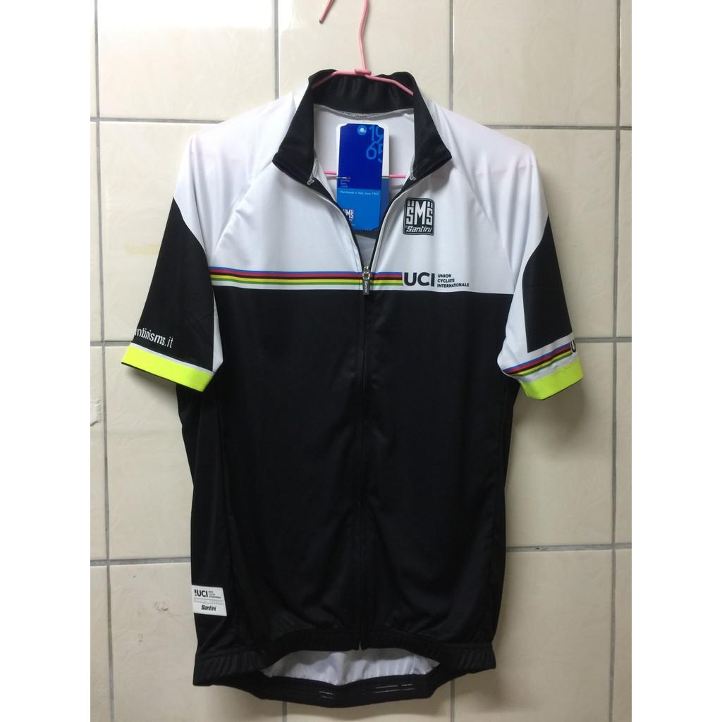 Santini 2016 UCI 時尚短袖車衣 S號