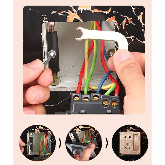 999【免運】(46-66mm整支金屬) 118型 斷耳固定柱 暗盒修復器 頂天立地柱 開關盒 配線盒 螺絲 開關 插座