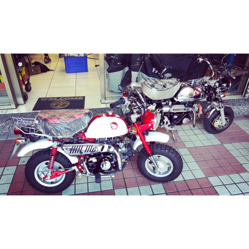 Honda monkey50 50週年紅白車款 全新車