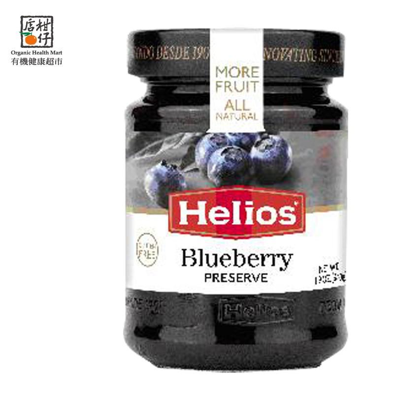 Helios太陽天然藍莓果醬 340g/瓶