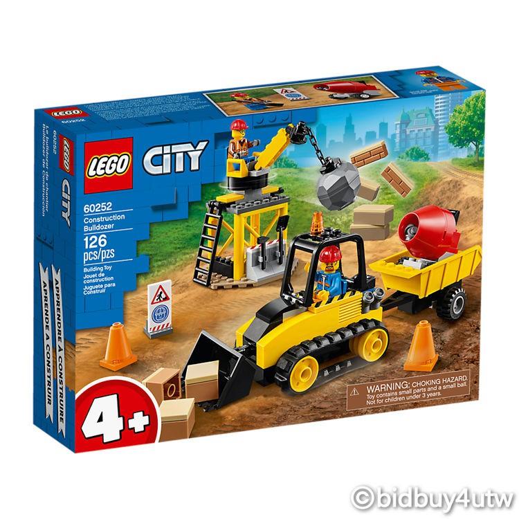 LEGO 60252 工程推土機 城鎮系列 【必買站】樂高盒組