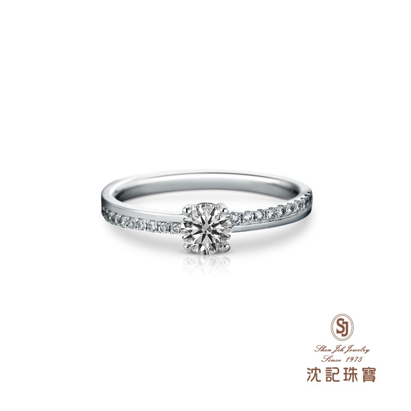 沈記珠寶 ShenJih Jewelry 鑽石戒指 圓形鑽石 八心八箭 GIA 0.30 克拉