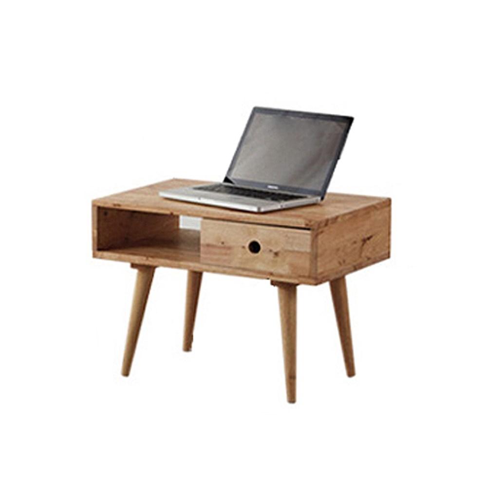 實木簡約日式高腳組合邊桌60cm 低 (60x40x44)