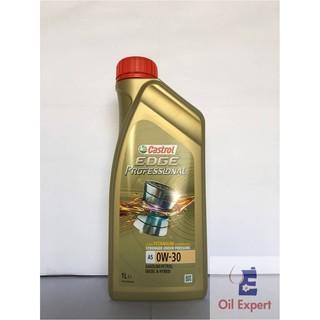 《 油品家 》CASTROL EDGE A5 0w30 全合成機油(附發票) 高雄市