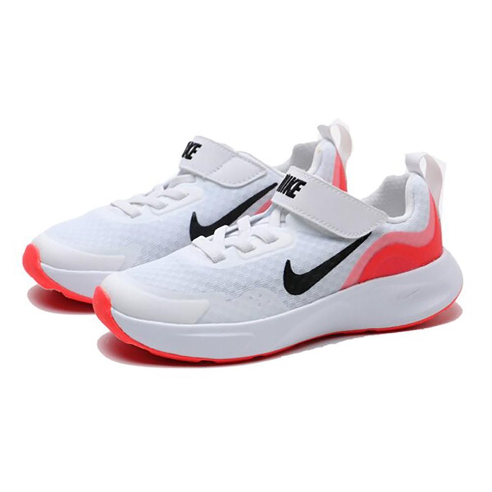NIKE WEARALLDAY (PS) 白 童 運動 透氣 輕量 慢跑鞋 CJ3817100
