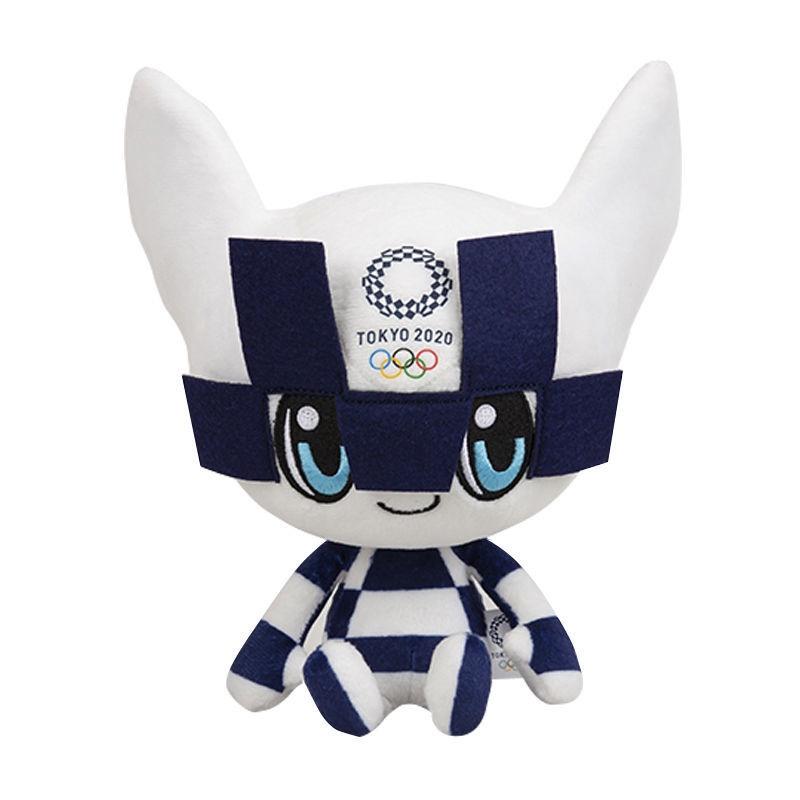 《東京奧運紀念物》2021東京奧運會紀念品吉祥物毛絨公仔玩具日本禮品賽事Miraitowa