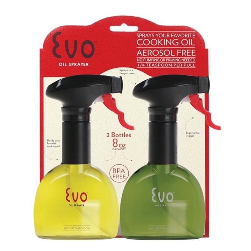 美國EVO噴油瓶(塑膠)黃+綠240ml
