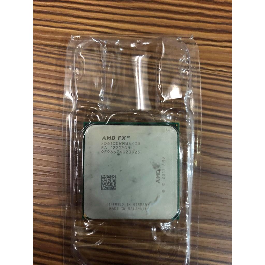 中古 二手 便宜賣 AMD FX-6100 6300 4100 8120 AM3+腳位