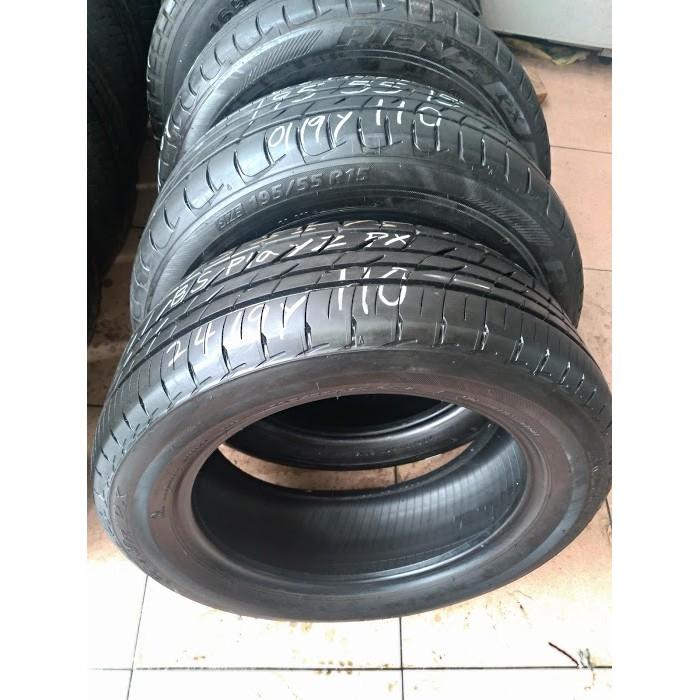 195 55 R 15 普利司通 PLAYZ PX 19年製造 9成新 二手 中古 落地 輪 胎 1輪1000元