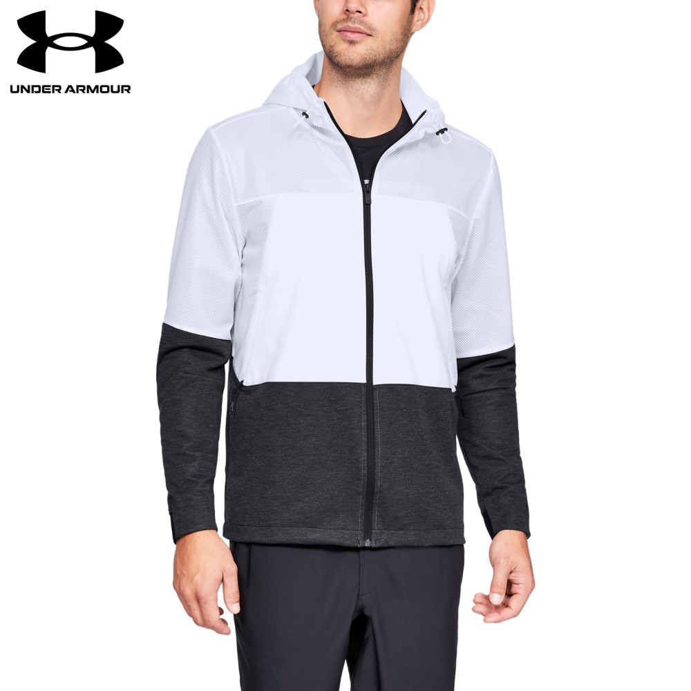 【UNDER ARMOUR】男 Sportstyle防風外套(1306456-101,Fitted)