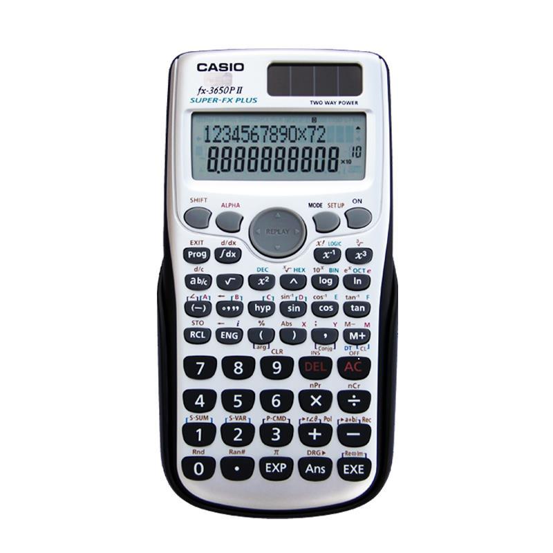 全志日用品百貨 正品卡西歐FX-3650PII科學編程計算機工程統計用專業計算器P II