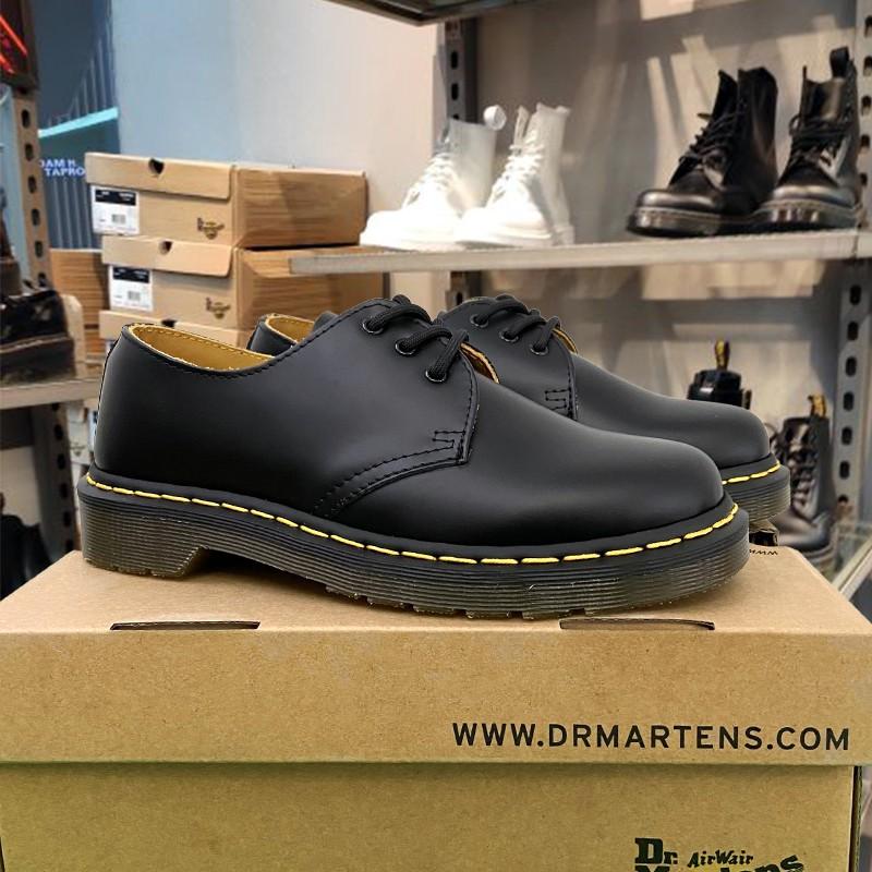 Dr.Martens 馬丁靴 馬汀靴 馬丁大夫 馬汀博士 馬丁鞋女1461經典3孔低幫真皮硬皮牛皮鞋男