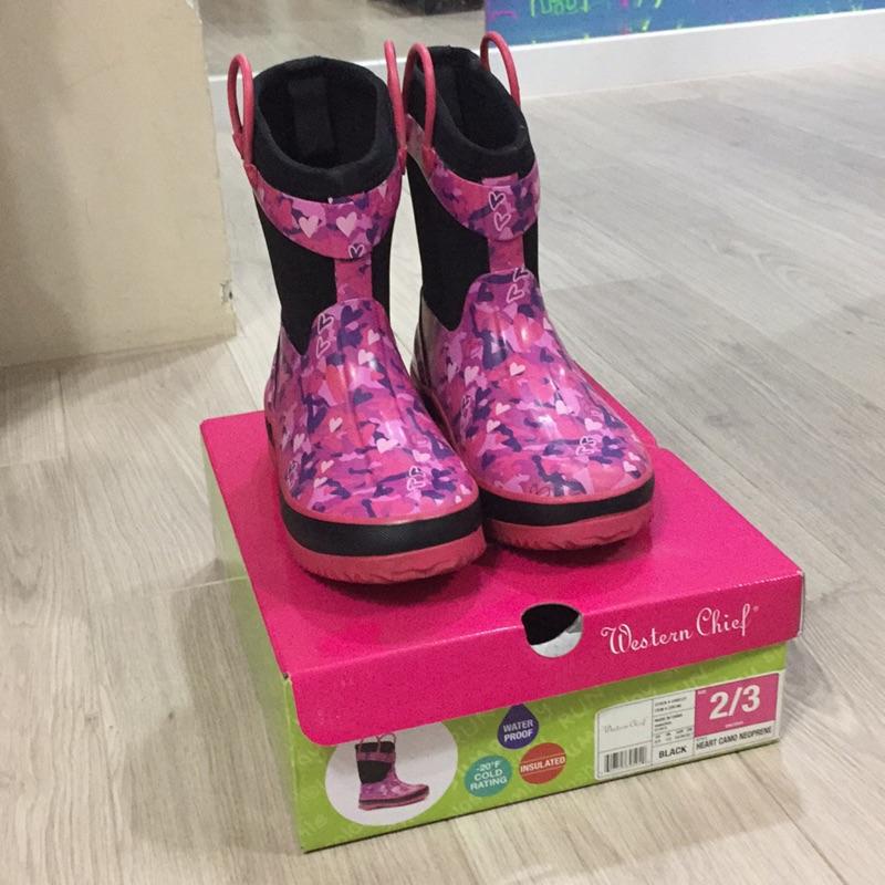 好市多購入女童雨鞋雪靴