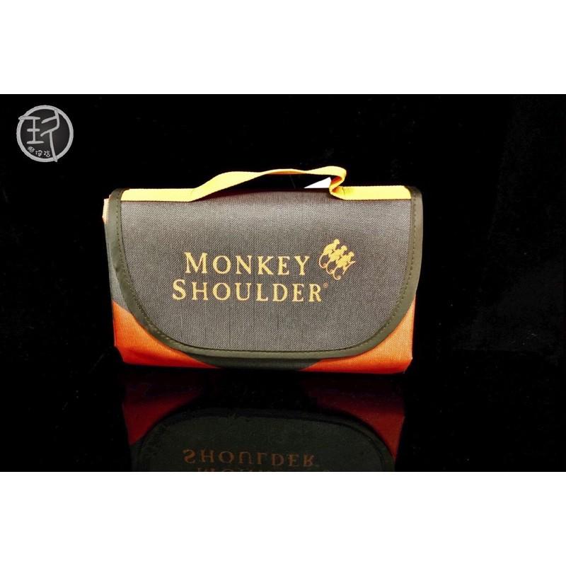 Monkey Shoulder 三隻猴子 摺疊收納野餐墊