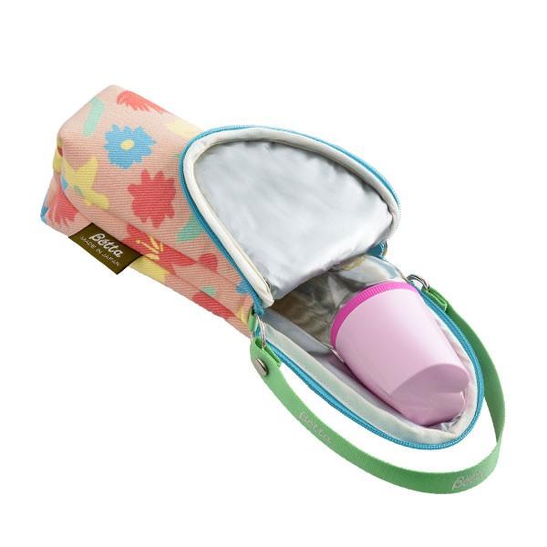 《JMK》日本製-Betta奶瓶專用保溫袋-小花
