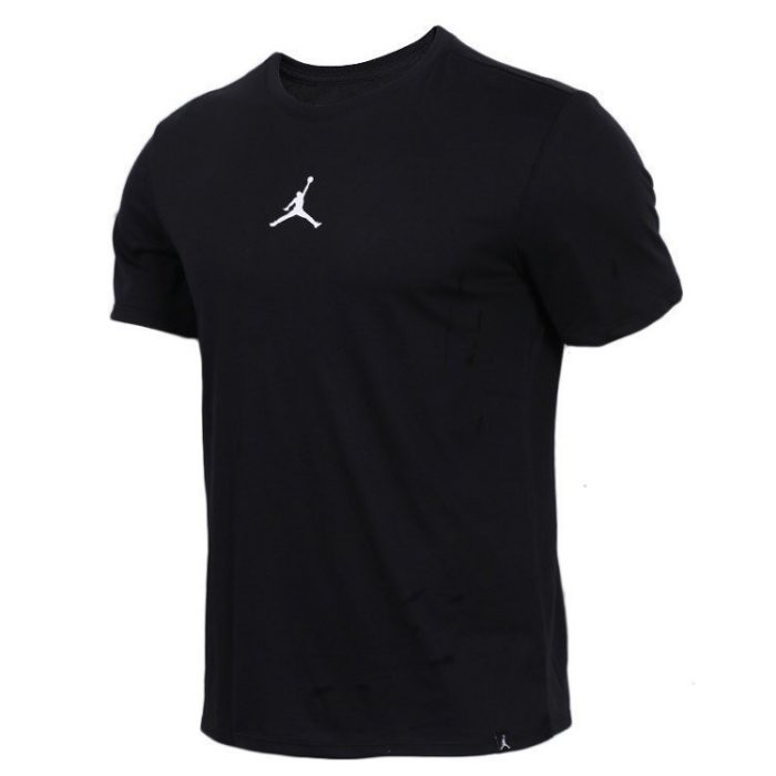 NIKE JORDAN 黑白灰 短TEE  DRI-FIT logo AR7416-101 短袖t恤