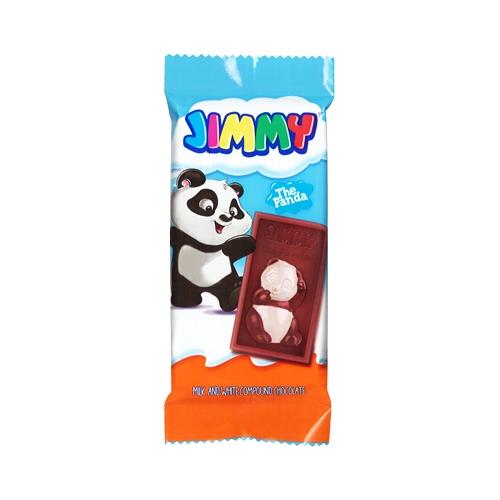 土耳其 Tayas 塔雅思 Jimmy熊貓代可可脂巧克力40g(單片)【小三美日】D083999