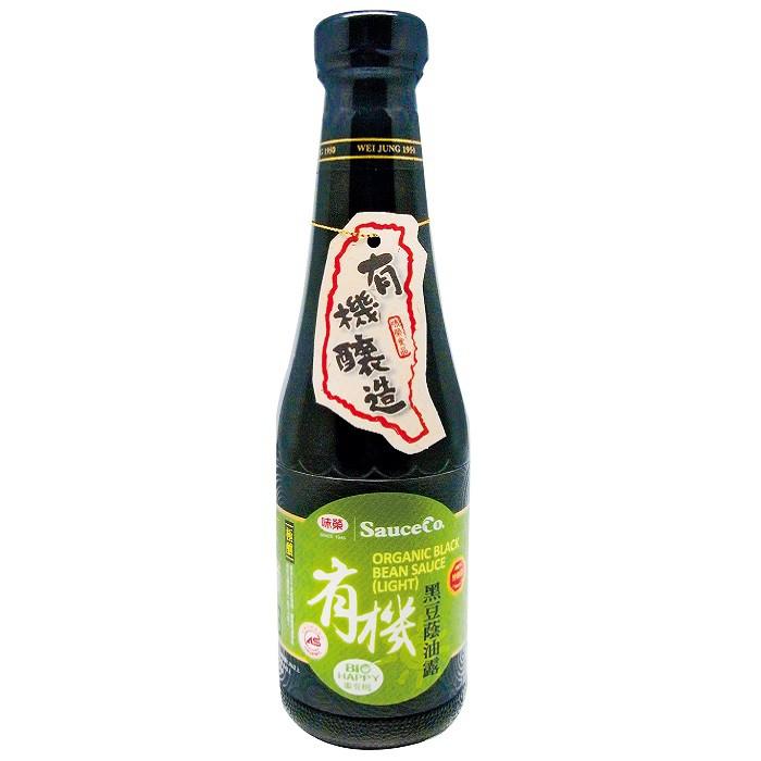 味榮 極釀級有機黑豆蔭油露 320ml/瓶(市價$195)