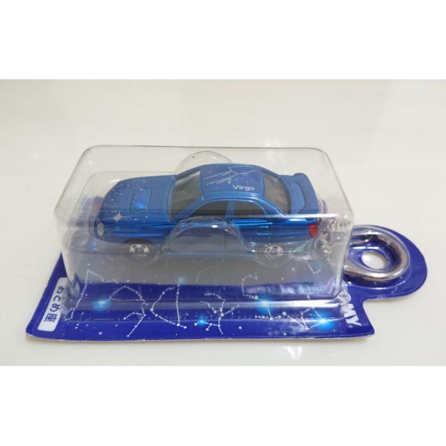 【現貨】Tomica Tomy 日版 玩具反斗城 星座合金 鑰匙圈 處女座 Subaru WRX