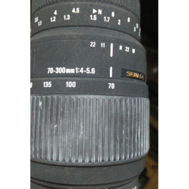 鏡頭 二手 sigma 70 300mm for pentax af pk 美品 單眼相機