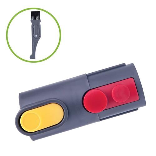 Dyson V6的周邊用在V8的主機上面用轉接頭 無電源用可用 轉接頭 適用於