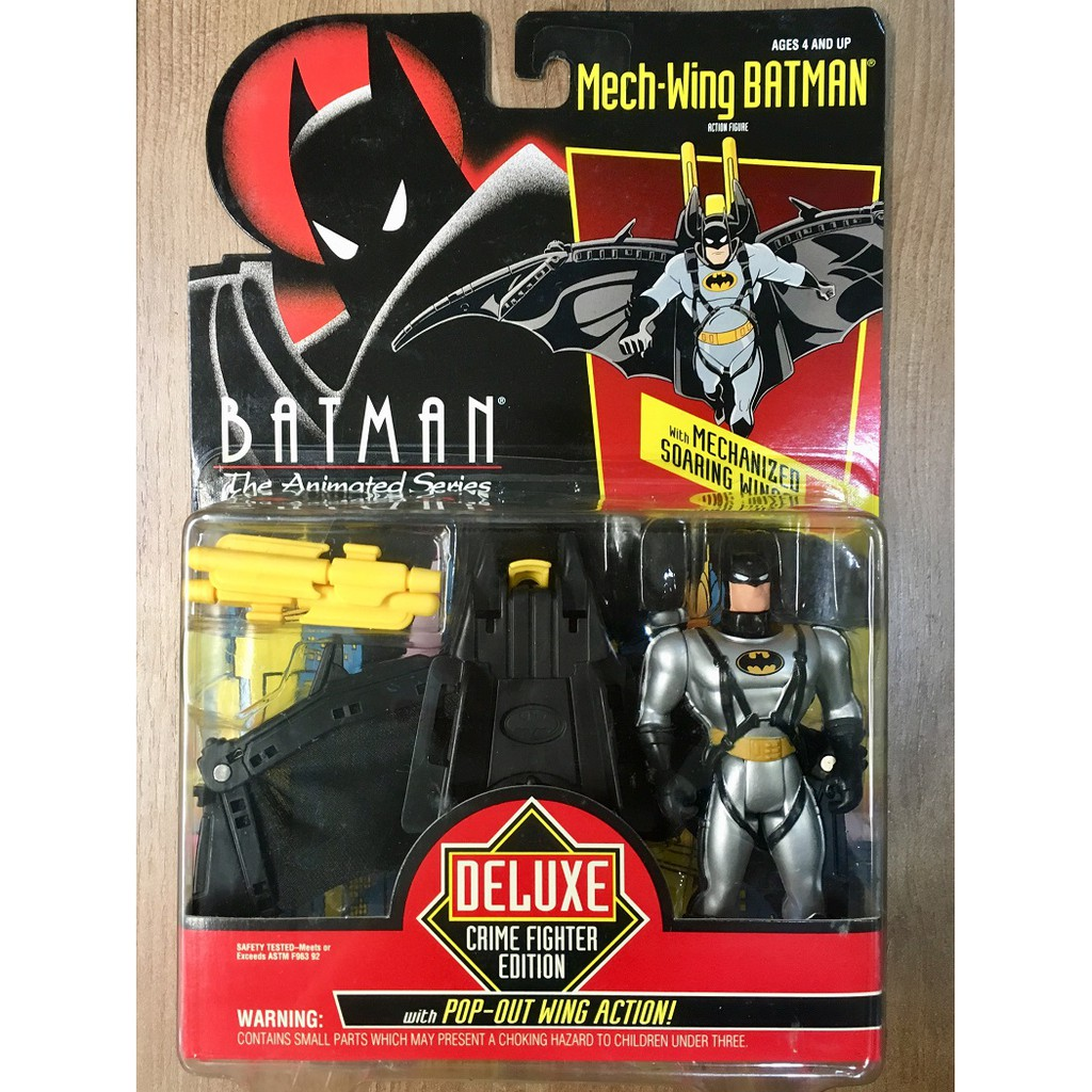 Kenner 1993 蝙蝠俠 動畫系列 Mech-Wing Batman 5吋 吊卡 稀有出清
