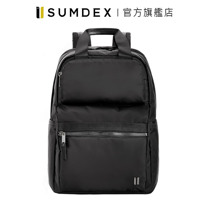 Sumdex|都會行動兩用後背包 NON-605BK 黑色 官方旗艦店