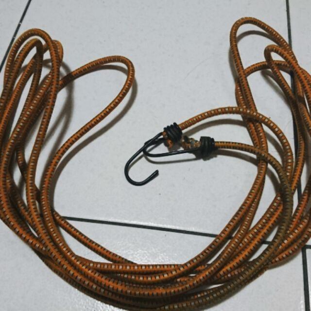 15尺雙頭彈力繩鈎~固定彈性繩 彈力繩 露營拉繩 貨車掛鉤 捆貨帶 機車繩 萬用彈繩
