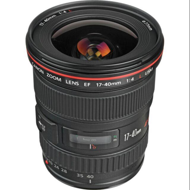 Canon EF 17-40mm f/4.0L USM 有盒單
