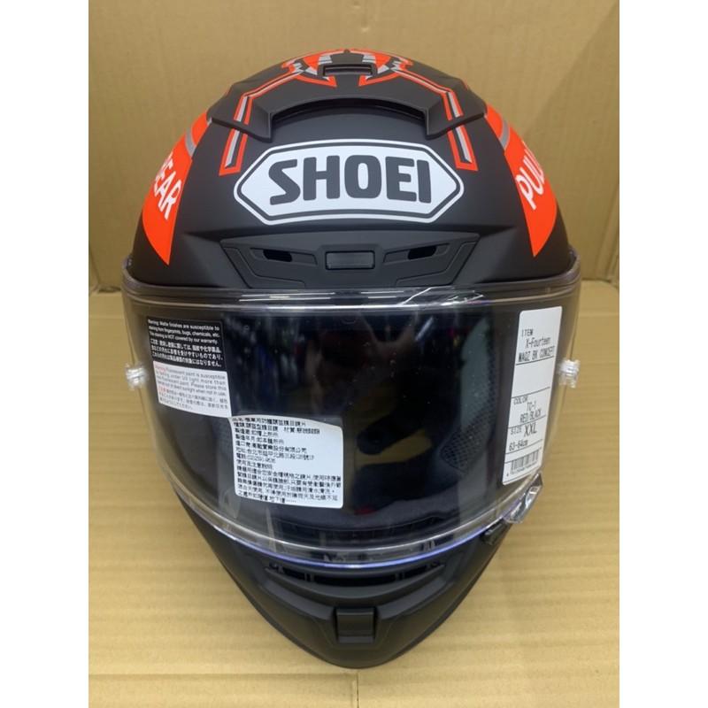 SHOEI X14 2020冬測帽 原廠公司貨 黑螞蟻
