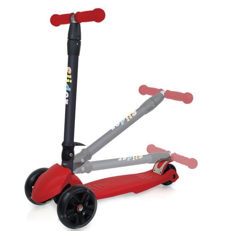 Slider 兒童三輪折疊滑板車 XL1-酷紅 玩具反斗城