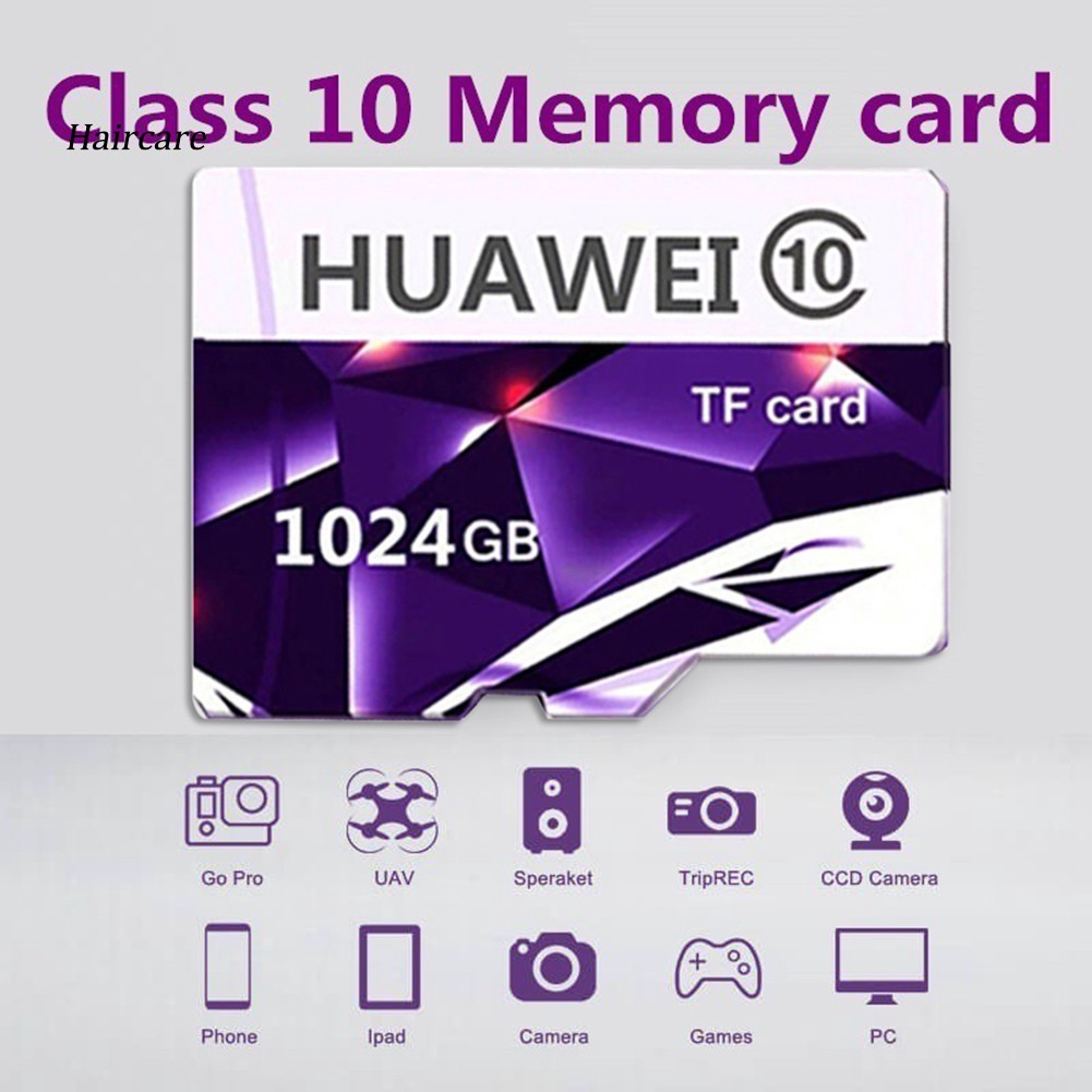 [ES]外部存儲Huawei EVO 512GB / 1TB High TF Micro Security Card