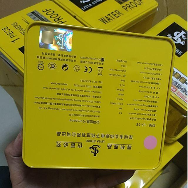 黃盒 Ls-58 藍牙喇叭