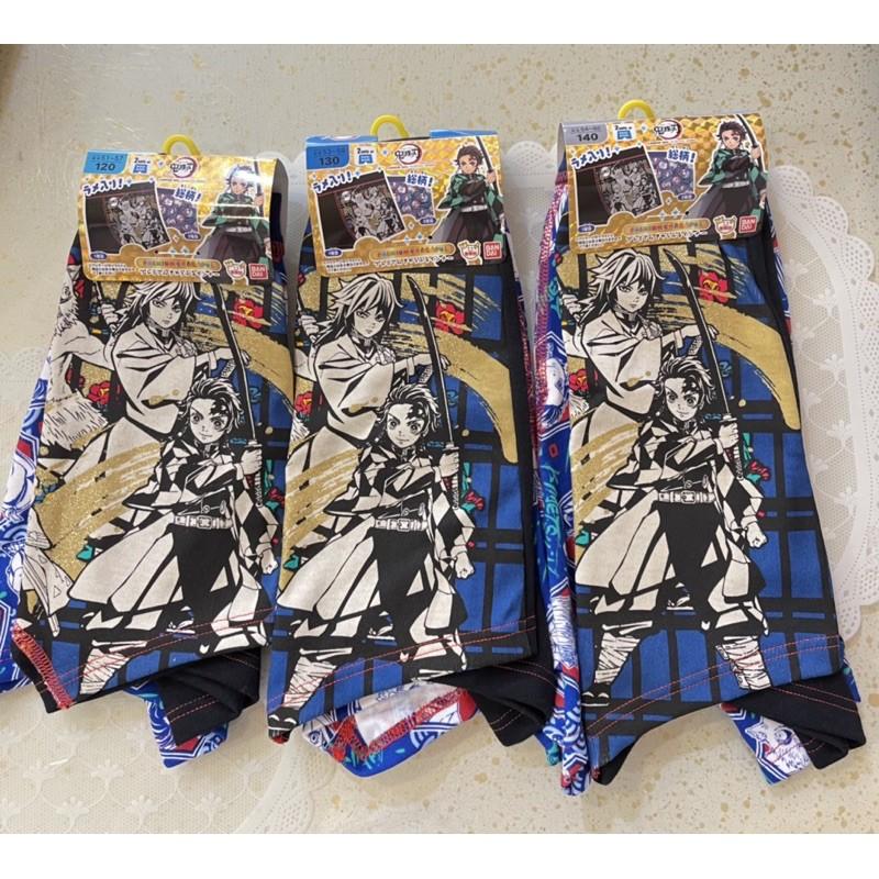 日本帶回鬼滅之刃平口內褲2件組120-140
