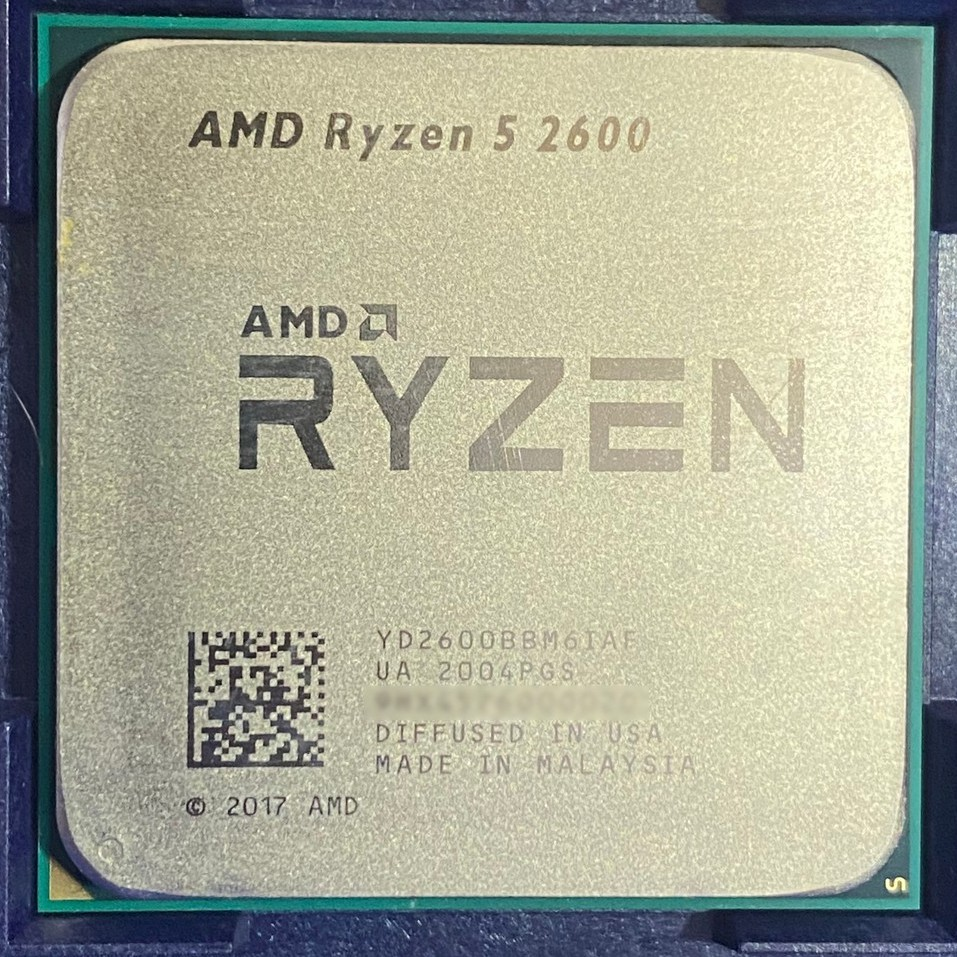 「安心買」〈處理器〉 ㊣ RYZEN 5 2600 ㊣ ( R5-2600 )