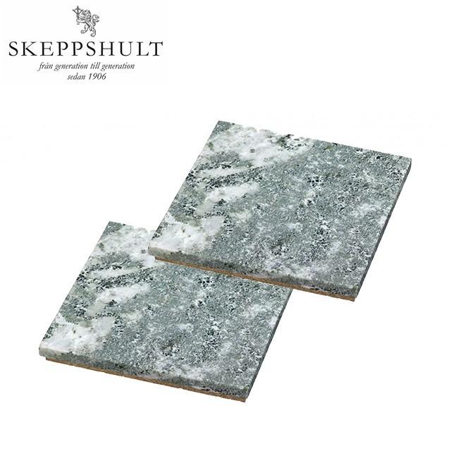 瑞典SKEPPSHULT 3010 大理石軟木熱墊片 10x10cm 兩入