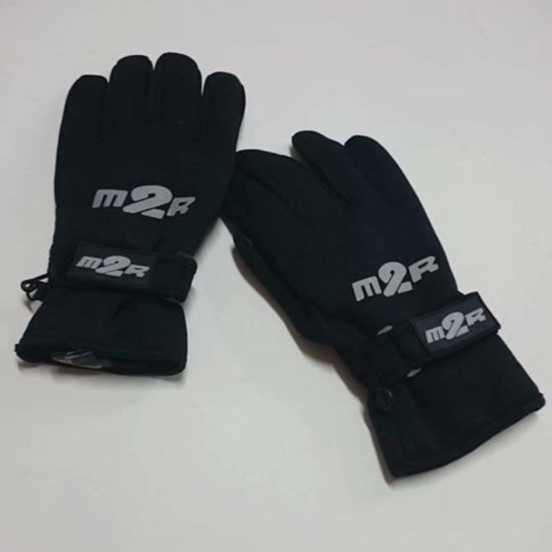 M2R品牌 刷毛防潑水手套~材質:潛水布. 現貨