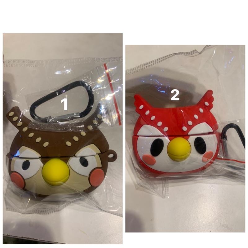 貓頭鷹 AirPods 3代 藍芽耳機卡通保護套