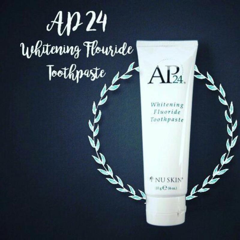 AP24。潔白牙膏 亮白