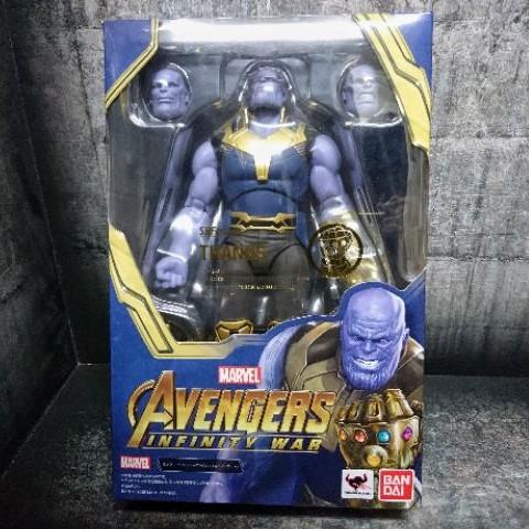 庫】 特價 全新 SHF 薩諾斯 無限之戰 復仇者 非 終局之戰 鋼鐵人 美國隊長 索爾 Marvel legends