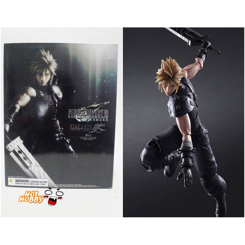 ✩微風小舖✩ Final Fantasy VII 最終幻想7 克勞德 PLAY ARTS改 PVC 港版