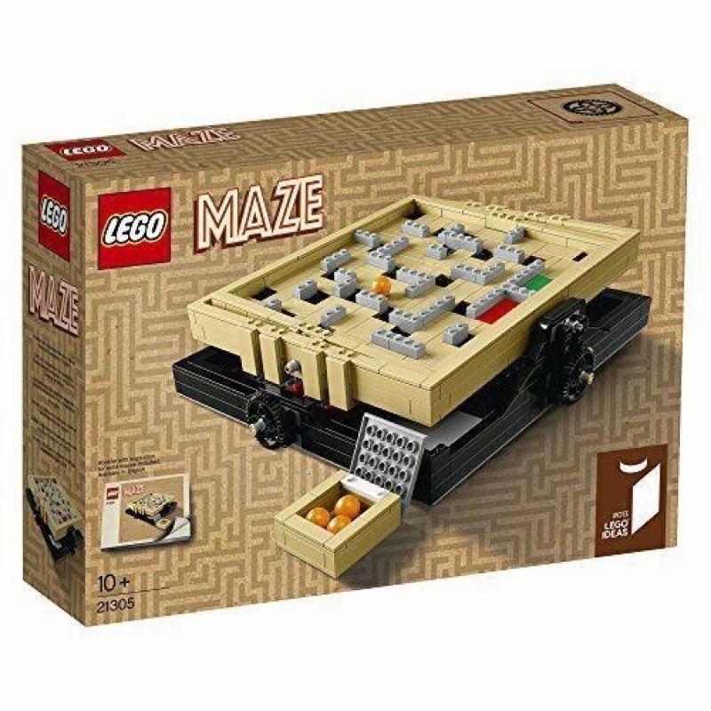 全新盒裝LEGO 21305迷宮(中和自取)
