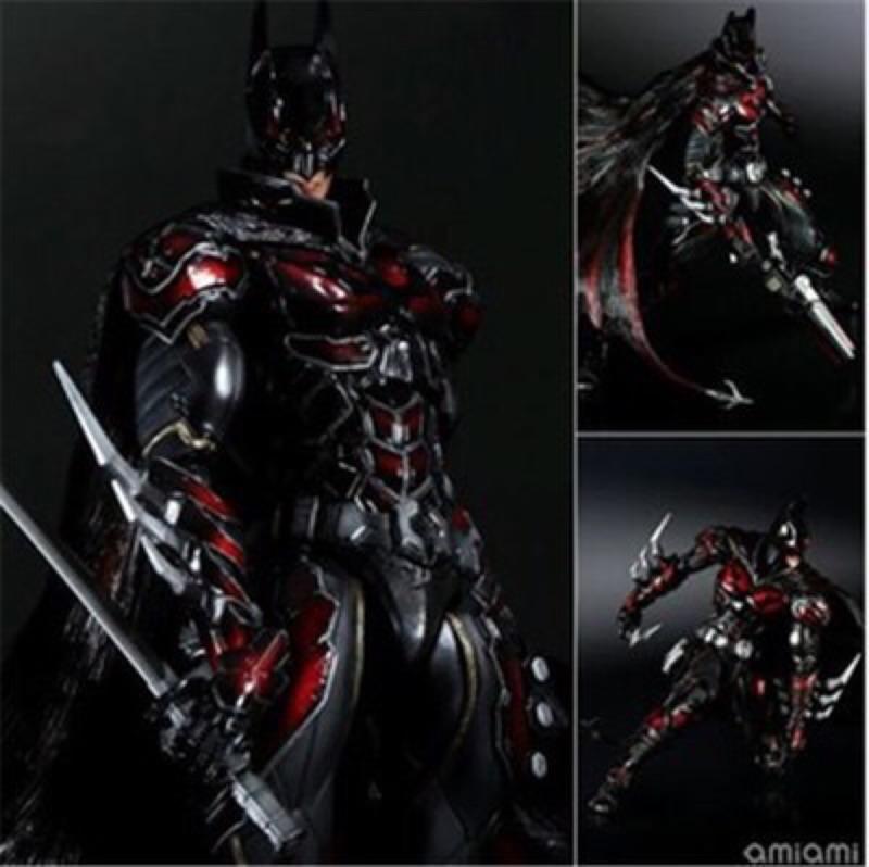 【南部經銷商】Play Arts 改 DC COMICS BATMAN 紅色限定蝙蝠俠