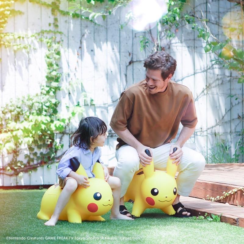 ☆AirRoom☆【現貨預購】POKEMON AIR 皮卡丘 充氣 跳跳馬 小孩 玩具
